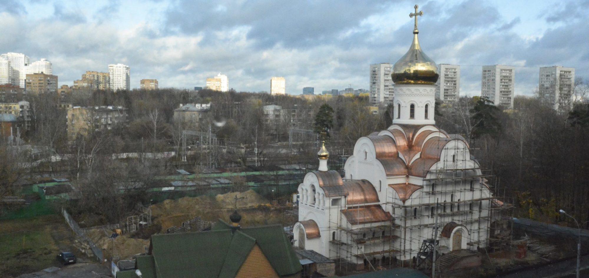 Храм святителя Николая Мирликийского в Щукине г. Москвы